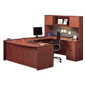 Click here for more Executive PL20 Bow Front Desk by NDI Office Furniture by Worthington