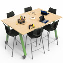 Planner Studio Tables by Smith System