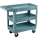 Click here for more Plastic Utility Carts by Sandusky Lee by Worthington