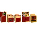 Colorful Essentials Play Kitchen by ECR4Kids