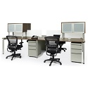 Click here for more Elements PLT15 Four Person Work Station Suite by NDI Office Furniture by Worthington