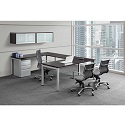 Click here for more Elements PLT37 & PLT5 U-Shaped Desk Suite by NDI Office Furniture by Worthington