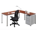 Click here for more Elements PLT6 L-Shaped Desk Suite by NDI Office Furniture by Worthington