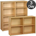 Eco Adjustable Open Shelf Storage Units by Tot-Mate