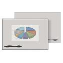 Click here for more Projection Plus Porcelain Steel Whiteboard w/ Ultra Trim by Best-Rite by Worthington