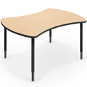 Quad Collaborative Student Desks by Balt