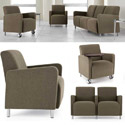 Click here for more Ravenna Series Reception Seating by Lesro by Worthington