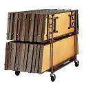 Click here for more Choral Portable Riser Caddy by Midwest by Worthington