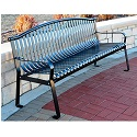Click here for more Rockford Outdoor Benches by Jayhawk Plastics by Worthington