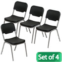Click here for more Rough N Ready Stack Chairs-Set of Four by Iceberg by Worthington