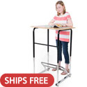 Click here for more Original Standing Desk by Stand2Learn by Worthington