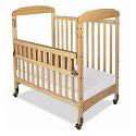 Click here for more SafeReach Side Gate Compact Serenity Crib by Foundations by Worthington