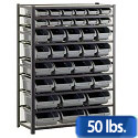 Bin Storage Racks by Sandusky Lee