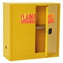 Click here for more Flammable Storage Cabinet by Sandusky Lee by Worthington