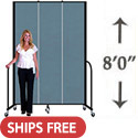 Click here for more 8' H Freestanding Portable Partition by Screenflex by Worthington