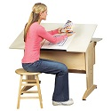 Art & Drafting Desktop/Laptop Drawing Table by Shain
