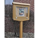 Small Hinged Outdoor Message Centers by Jayhawk Plastics