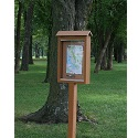 Click here for more Small Outdoor Message Centers by Jayhawk Plastics by Worthington