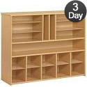 Click here for more Eco Multi-Section Spacesaver Cubby Unit by Tot-Mate by Worthington