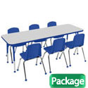 Click here for more Packaged Tables & Chairs by Worthington
