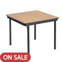 Click here for more Square Particle Board Folding Tables by Amtab by Worthington