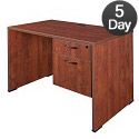 Click here for more Sandia Single Pedestal Desks by Regency by Worthington