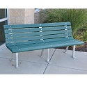 Click here for more St. Pete Outdoor Benches by Jayhawk Plastics by Worthington