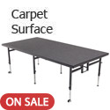 Click here for more Dual Height Stages w/ Carpet Surface by Amtab by Worthington