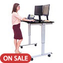 Electric Standing Desks by Luxor