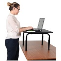 Click here for more Standing Desktop Desk by Luxor by Worthington
