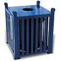 Click here for more Savannah Outdoor Trash Receptacles by UltraPlay by Worthington