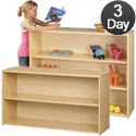 Eco Straight Shelf Storage Units by Tot-Mate