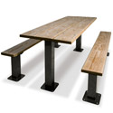 Click here for more Traditional Multi-Pedestal Picnic Table by UltraPlay by Worthington