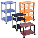 Color Tuffy Utility Cart by Luxor