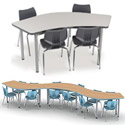 Click here for more UXL Crescent Table by Smith System by Worthington