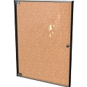 Ultra Enclosed Bulletin Board Cabinet by Best-Rite