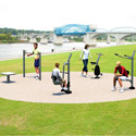 Click here for more Pocket Park A Outdoor Fitness Kit by UltraPlay by Worthington
