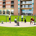 Click here for more Pocket Park B Outdoor Fitness Kit by UltraPlay by Worthington