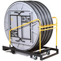 UpperZone Round Table Trucks by Midwest