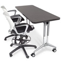 UXL Adjustable Height Nest and Fold Training Tables by Smith System