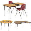 Click here for more 4000 Series Activity Tables by Virco by Worthington