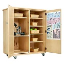 Robotics Storage Cabinet by Diversified Woodcrafts