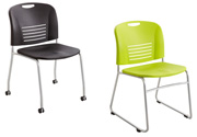 Click here for more VY Stack Chairs by Safco Products by Worthington