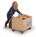 Click here for more Rolling Kid Bin by Whitney Brothers by Worthington