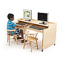 Click here for more Adjustable Computer Desk by Whitney Bros by Worthington