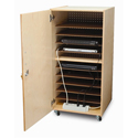 Laptop Security Cabinet by Whitney Brothers