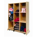 9 Cubby Storage & Teaching Center Whitney Brothers