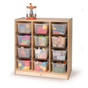 Click here for more 12 Cubby Storage Cabinet by Whitney Brothers by Worthington