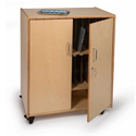 Click here for more Tablet Security Cabinet by Whitney Brothers by Worthington