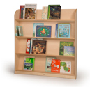 Click here for more Single-Sided Library Bookshelf by Whitney Brothers by Worthington